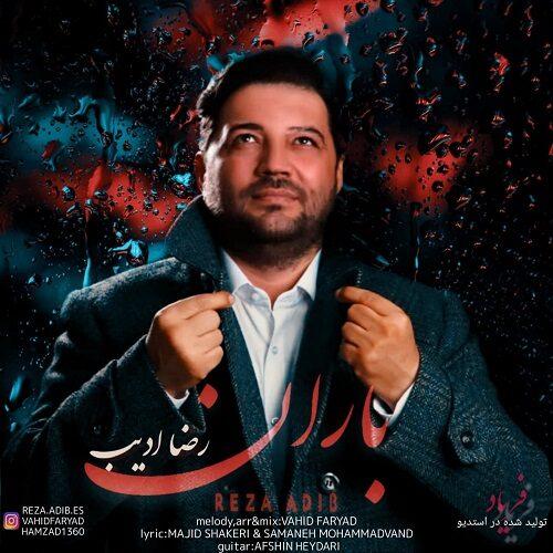 دانلود موزیک جدید رضا ادیب باران
